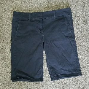 Dark gray Loft shorts